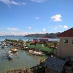 Passerelle d'accès hôtel, embarcadère ferry