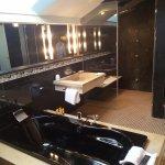 The Penthouse Suite's Bathroom (partial view)