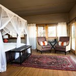 Guest Tent at Toka Leya Camp