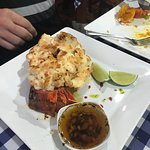 This is one huge lobster tail