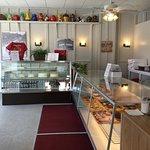 Inside Bendtsen's Bakery.