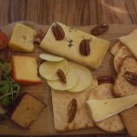 Cheese board.
