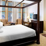 City View King Bed with Fireplace
