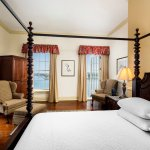 River View, King Bed with Hardwood Floors and French Balcony