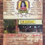 Zuriel's Latin Restaurant Menu1 - Bradenton FL