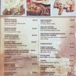 Zuriel's Latin Restaurant Menu2 - Bradenton FL