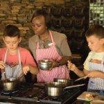 Kids activities include cooking