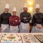 Gianluca Carli e il suo staff