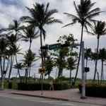 Ocean Drive side of the park
