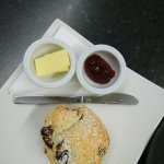 Scones baked fresh daily