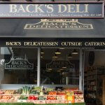 We sell fresh fruit and veg in front off the deli