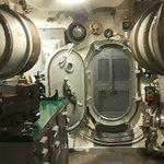 Interior of USS Pampanito
