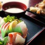 Ozeki sashimi and sushi special.