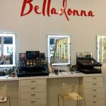 Belladonna's new makeup counter!