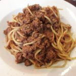 Spaghetti Bolognese 1 (not recommended)