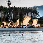 Deep Water Solo, Whitewater Kayaking, and High Ropes at the U.S. National Whitewater Center