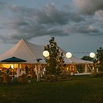 A beautiful location for a marquee wedding