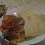 How about Rotti , Massala omelet , sambar for the breakfast