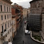 Another view point from double room with Pantheon view