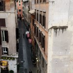 Another view from double room with Pantheon view