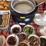Breakfast: Teochew porridge