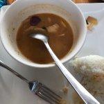 Chicken Tom Yam. So so..