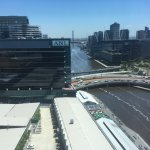 View of Yarra from 16th floor