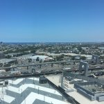 View from 16th floor to Port Phillip Bay