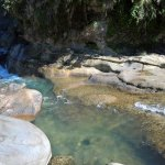 Clear water of Bomod-Ok Falls