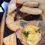 Baked Camembert sharing platter