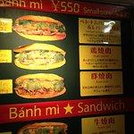 Photo of banh mi Sandwich