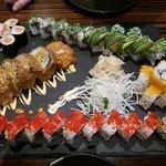 Sushi für zwei im Hatoky - soooo lecker!!