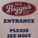 Biggies Sign