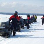 Снегоходные туры в Карелии проводятся с середины декабря по конец марта