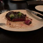 Wagyu steak, perfectly cooked.