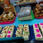 Various kind sweets & cakes
