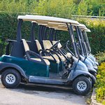 Golf on site, award winning golf course