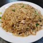 Chicken Fried rice lunch portion