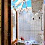 En suite bathroom in each bedroom with Balinese shower