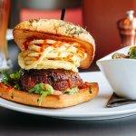 110 Grill Meatloaf Burger