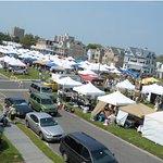 Ocean Grove has 2 Giant Flea Markets each year with over 300 vendors