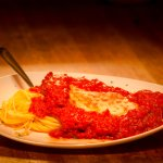 CUSTOMER FAVORITE Chicken Parmigiana