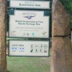 Bushmans Nek area