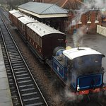 Lovely Victorian Christmas at the bluebell railway