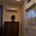 Entrance and AC with remote