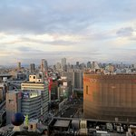 View over Namba from a room on the 20th floor