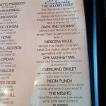 Signature drinks - hubby had The Golden Eagle & my choice, Dark & Stormy - yummilicious!