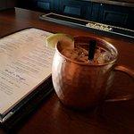 Dark & Stormy - Bacardi 8 rum w/ginger beer PERFECTION!