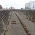 This is the Titanic's dry dock location.