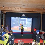 Our Multi-Sport Simulator is great for parties!